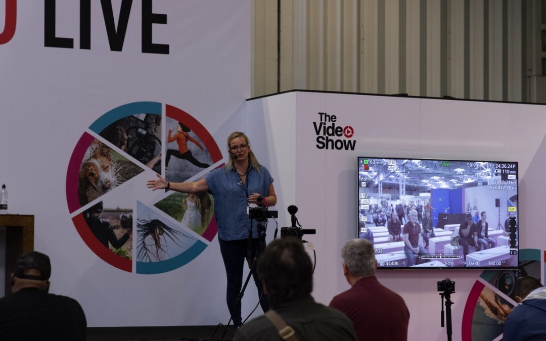 Did you miss my Live Talks at The Video Show 2021? Here's everything that happened!
